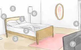 nördliches feng shui schlafzimmer die fünf natur elemente