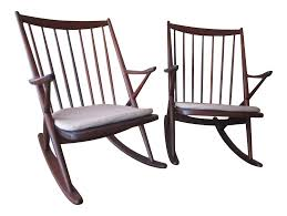 Vintage & Used Rocking Chairs For Sale | Chairish 10 Best Rocking Chairs 2019 Building A Modern Plywood Chair From One Sheet White Baby Rabbit With Short Ears Sitting On Wood Armchairs Recliner Ikea Striped Upholstered Mahogany Framed Parts Of Hunker Uhuru Fniture Colctibles Sold Rocker 30 The Thing I Wish Knew Before Buying For Our Buy Living Room Online At Overstock Find More Inoutdoor Classic Wooden Like Hack Strandmon Diy Wingback Interiors