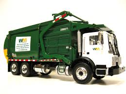 100 First Gear Garbage Truck Waste Management Front Load Garbage Truck