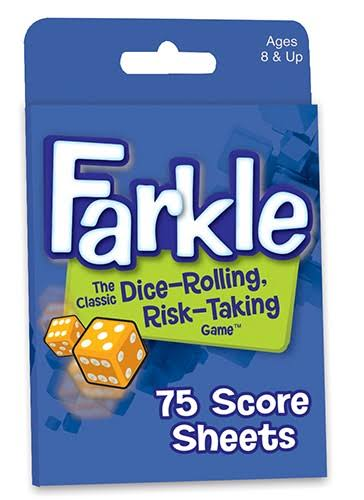 Patch Products Farkle Score Sheets - 75 Score Sheets