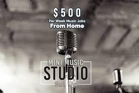 Mini Music Studio Set Up For Jobs Online
