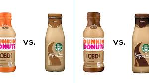 Starbucks Vs Dunkin Donuts Bottled Iced Coffees Which Is Better