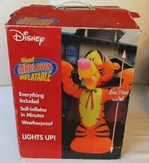 Disney Halloween Airblown Inflatables by Disney Halloween Tigger Dressed Like A Vampire Airblown Inflatable