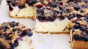 gâteau au fromage blanc et à la myrtille recette