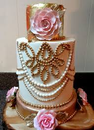 Rustic Elegant Wedding Cake On Central
