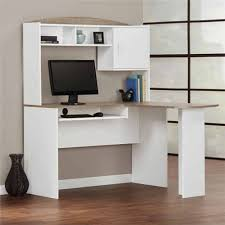 Mainstays Corner Computer Desk Instructions by Amazon Com Mainstays L Shaped Desk With Hutch Multiple Finishes