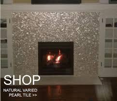Tile Shop Burnsville Mn Hours by Bali Ocean Pebble Tile Fireplace Surround Pebble Tile Shop
