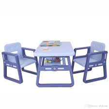 2019 Kids Table And Chairs Set Reading Table Chair Little Kid Children  Furniture Purple Table And 2 Chairs For Reading, Train, Art Play Room From  ... Kids Study Table Chairs Details About Kids Table Chair Set Multi Color Toddler Activity Plastic Boys Girls Square Play Goplus 5 Piece Pine Wood Children Room Fniture Natural New Hw55008na Schon Childrens And Enchanting The Whisper Nick Jr Dora The Explorer Storage And Advantages Of Purchasing Wooden Tables Chairs For Buy Latest Sets At Best Price Online In Asunflower With Adjustable Legs As Ding Simple Her Tool Belt Solid Study Desk Chalkboard Game