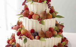 White Almond Wedding Cake Frosting Gallery Cakes Luxury Frosti 639 X