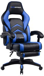 Gaming Chair Racing Style Reclining Office Swivel Computer Desk Chair  Ergonomic Conference Executive Manager Work Chair PU Leather High Back ...