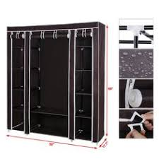 New Portable Bedroom Furniture Clothes Wardrobe Closet Storage