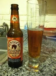 Kentucky Pumpkin Barrel Ale Glass by Beer Kovak U0027s Corner