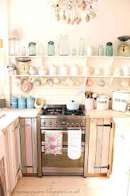 French Chic Kitchen Shabby Cabinet Sweet Ideas Pallet