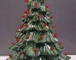 Clear Bulbs For Ceramic Christmas Tree by Vintage Style Ceramic Christmas Tree 18 Ceramic