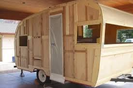 Entire 1962 Shasta Interior Was Rebuilt Using Ash Wood