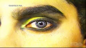 Halloween In College Wildcat Connections by Colored Contacts For Halloween Known To Injure Eyes Optometrist