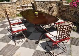 ensemble table et chaises fer forgé comparez les prix avec twenga