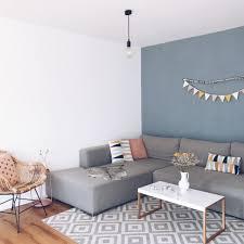 unser skandinavisches wohnzimmer einfache dekoideen