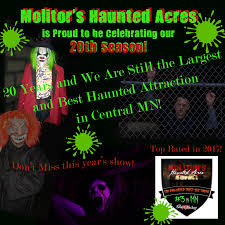 Haunted Halloween Attractions In Mn by Molitors Haunted Acres