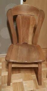 details zu 6 esszimmer stühle aus massiv holz gebraucht sehr stabil