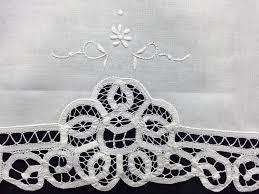Battenburg Lace Curtains Ecru by Amazon Com White Battenburg Lace Table Runner Dresser Scarf 16x70