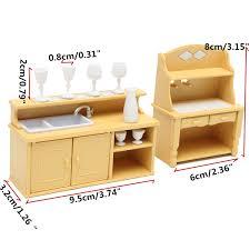 Tables And Units Dolls House Miniature MyTinyWorld