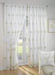 Crushed Voile Curtains Uk by White Lined Voile Curtains Uk Memsaheb Net