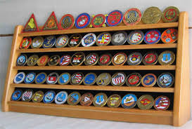 Coin Medal Or Casino Poker Chip Display Stand