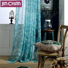 Blue Crushed Voile Curtains by Blue Sheer Curtains Solid Screening Sheer Curtains For Living Room