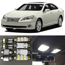 shop 11pcs white car led light bulbs interior canbus kit