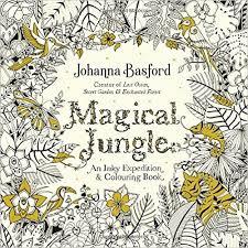 Magical Jungle An Inky Expedition Colouring Book Books Amazon De