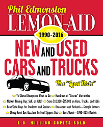 Lemon-Aid New And Used Cars And Trucks 1990-2016: Phil Edmonston ... Buy Used We Buy Trailers In Any Cdition Contact Ustrailer And Let Us Shopping Used Cars Fargo Gateway Trucks Phoenix Az Online Source Of Buying New Or Trucks 022016 Nebrkakansasiowa Tanker Truck Us Trailer Would Love To 2011 Hino 26gtx Non Cdl Sell Shredding Equipment A Truck Save Depaula Chevrolet Texas Fleet Sales Medium Duty Kenworth Peterbilt Hino Steps How Car Parts Royal Trading