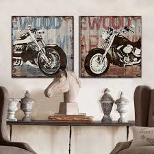 Fresh Design Motorcycle Home Decor 9 Best Vintage Images On Pinterest Bright Inspiration Harley Davidson