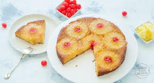 kuchen mit ananas und karamell backen macht