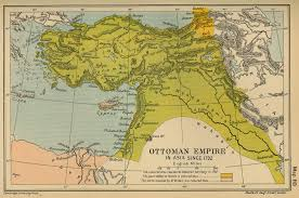 Map of the Ottoman Empire Asia 1792