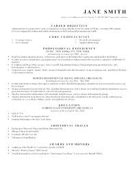 Objectives For Resume Job Resumes