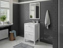 allibert badmöbel set america 3 tlg breite 60 cm mit softclose funktion waschbecken aus hochwertiger keramik