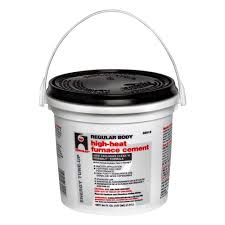 Hercules 1 2 gal Furnace Stove Cement The Home Depot