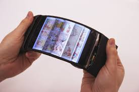 ReFlex Revolutionary flexible smartphone allows users to feel the