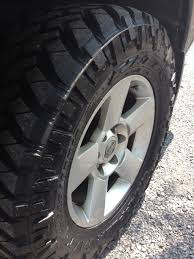 100 Nitto Truck Tires 2856518 Trail Grappler Fit On My Truck Nissan Titan Forum