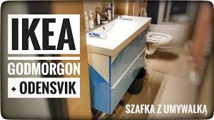 ikea godmorgon odensvik szafka z umywalką forumwiedzy