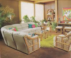 Here Is Another Rattan Living Room