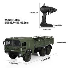 100 Rc Military Trucks Helifar HB NB2805 1 16 RC Truck 7500 Online Shopping