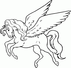 Cheerful Pegasus Coloring Pages To Print For Adults Pony Horse Beyblade Baby Adult Of Gif