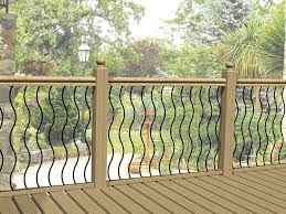 Metal Decking Railing Panels / Fencing Infill Rails / Steel ... Best 25 Deck Railings Ideas On Pinterest Outdoor Stairs 7 Best Images Cable Railing Decking And Fiberon Com Railing Gate 29 Cottage Deck Banister Cap Near The House Banquette Diy Wood Ideas Doherty Durability Of Fencing Beautiful Rail For And Indoors 126 Dock Stairs 21 Metal Rustic Title Rustic Brown Wood Decks 9