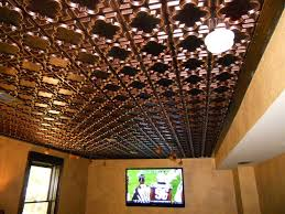 luxurious home display with tin ceiling tiles holoduke