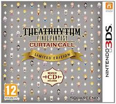 theatrhythm final fantasy curtain call limited edition nintendo