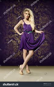 looking for a purple dress