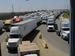 Mexican Truck Drivers Protest Tolls Near Border | Fronteras