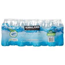 Costco Kirkland Signature Premium Bottled Drinking Water 169 Oz
